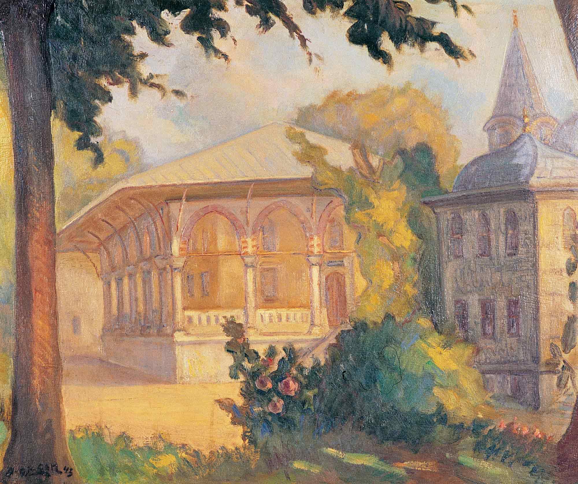 Abdullah Çizgen Topkapı Sarayı