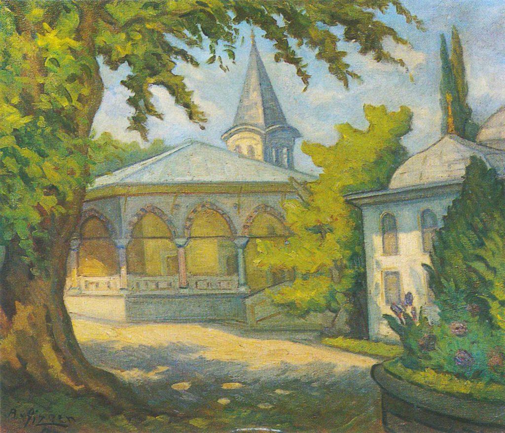 Abdullah Çizgen Topkapı Sarayından