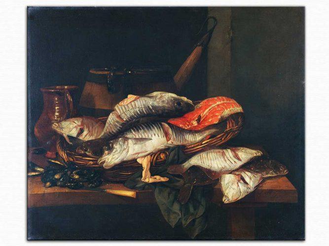 Abraham Hendrick van Beijeren Balıklar