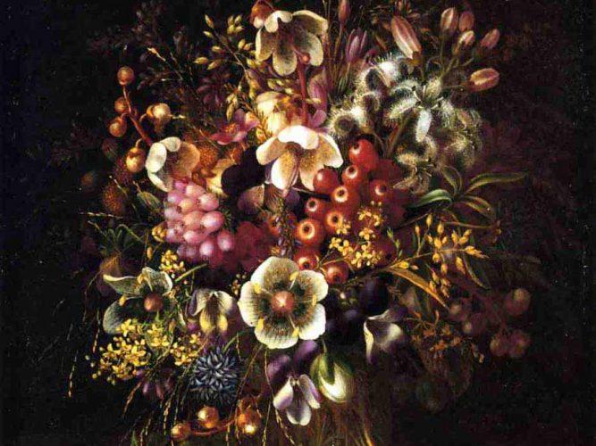 Adelheid Dietrich Vazoda Çiçekler
