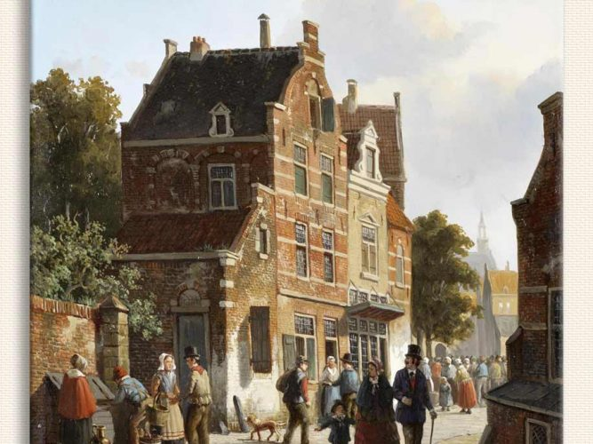 Adrianus Eversen Kalabalık Cadde