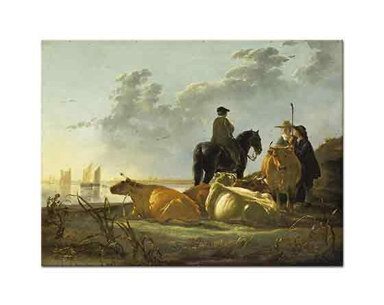 Aelbert Cuyp Çoban ve Sığırları