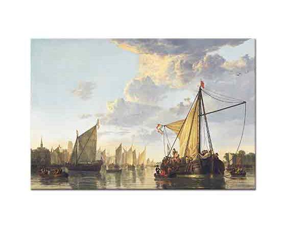 Aelbert Cuyp Dordrecht Limanı
