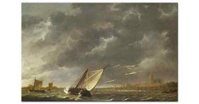 Aelbert Cuyp Fırtına
