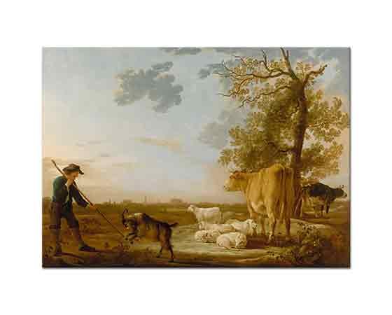 Aelbert Cuyp Sığırlar Peyzaj