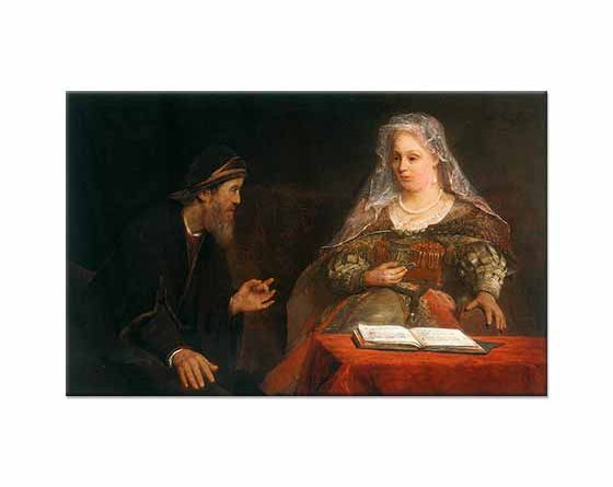 Aert de Gelder Esther ve Mordecai