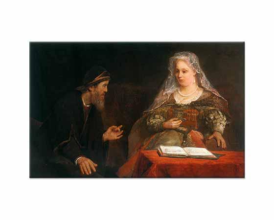 Aert de Gelder Esther ve Mordecai