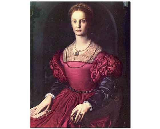 Agnolo Bronzino Lucrezia Panciatichi'nin Portresi