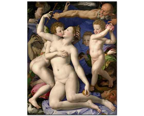Agnolo Bronzino Venüs'ün Zafer Allegorisi