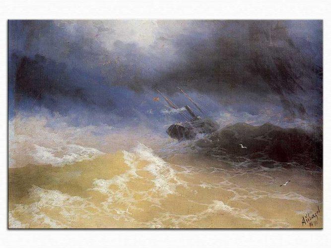 Ivan Konstantinovich Aivazovsky Kasırga