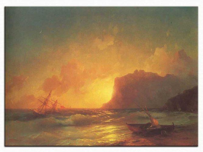 Ivan Konstantinovich Aivazovsky Koktebel Denizi
