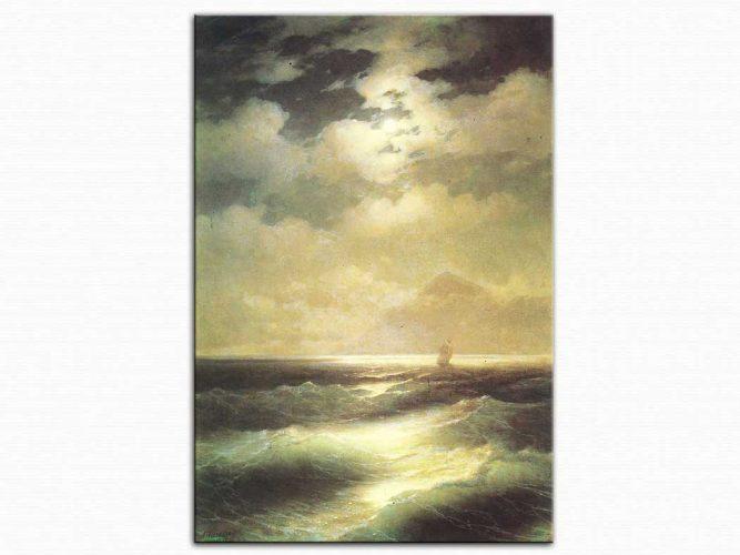 Ivan Konstantinovich Aivazovsky Mehtapta Deniz
