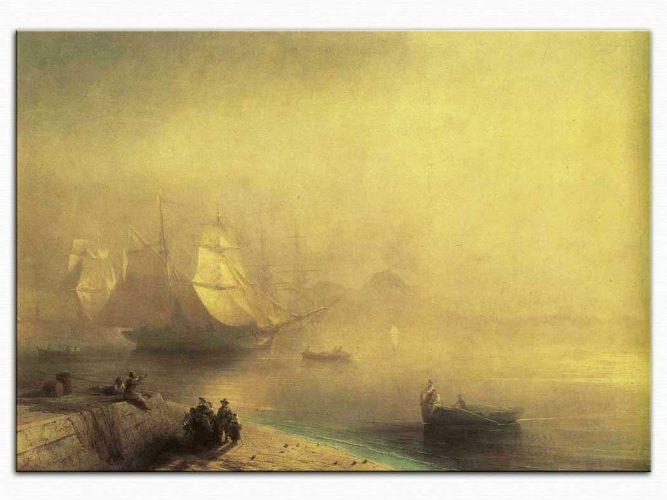 Ivan Konstantinovich Aivazovsky Napoli Körfezinde Sabah