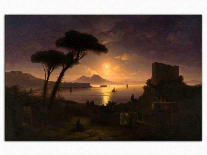 Ivan Konstantinovich Aivazovsky Napoli de Mehtap