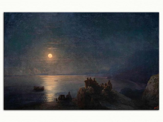 Ivan Konstantinovich Aivazovsky Yunanistan'da Mehtap