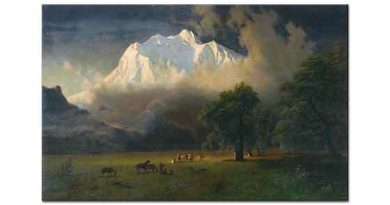 Albert Bierstadt Adams Dağı Washington