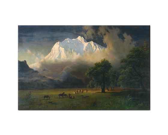 Albert Bierstadt Adams Dağı Washington