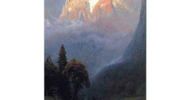 Albert Bierstadt Alp'ler Üzerinde Fırtına