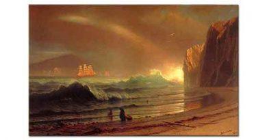 Albert Bierstadt Altın Geçidi