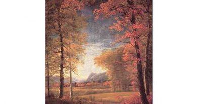 Albert Bierstadt Amerikada Sonbahar Oneida County