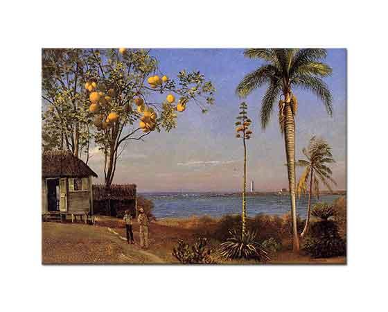 Albert Bierstadt Bahamalardan Bir Görünüm