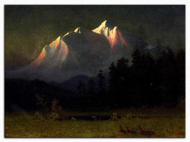 Albert Bierstadt Batı Manzarası