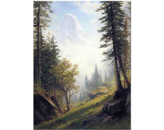 Albert Bierstadt Bern Alpleri Arasında