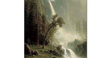 Albert Bierstadt Bridal Veil Şelalesi