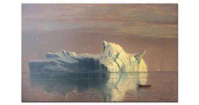 Albert Bierstadt Buz dağı