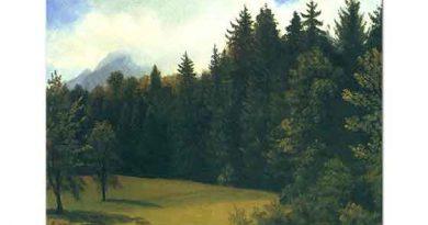 Albert Bierstadt Dağ Sayfiyesi