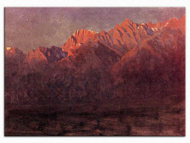 Albert Bierstadt Dağlar