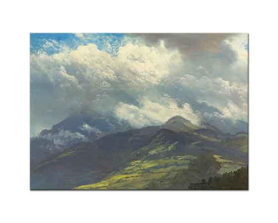 Albert Bierstadt Dağların Yeşilliği