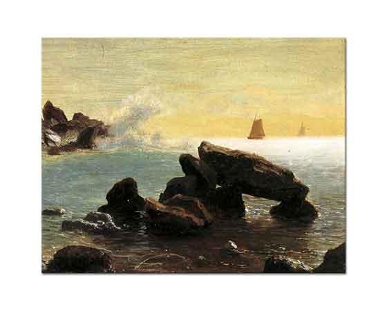 Albert Bierstadt Farralon Adaları Kaliforniya