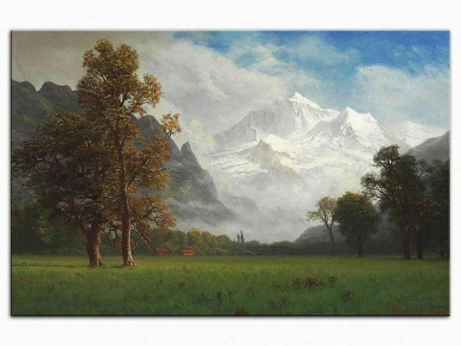 Albert Bierstadt Jungfrau Tepesi