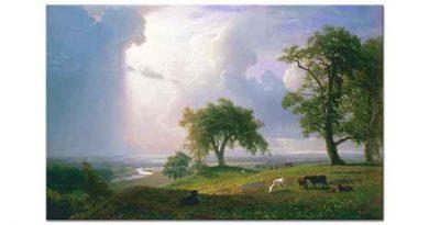 Albert Bierstadt Kaliforniya Baharı