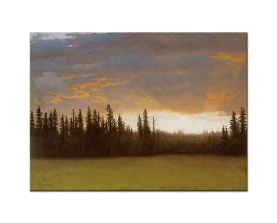 Albert Bierstadt Kaliforniya'da Günbatımı