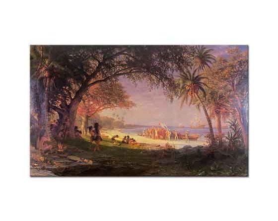 Albert Bierstadt Kristof Kolomb