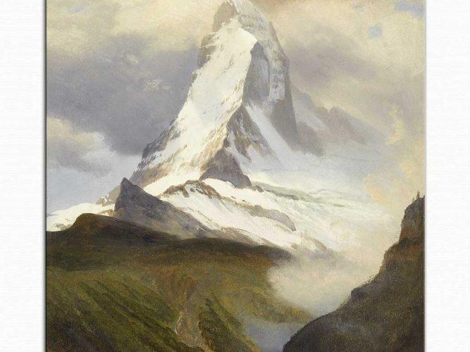 Albert Bierstadt Matterhorn Tepesi