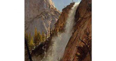 Albert Bierstadt Özgürlük Tepesi Yosemite