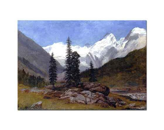 Albert Bierstadt Rocky Dağı