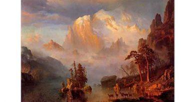Albert Bierstadt Rocky Dağları