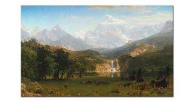 Albert Bierstadt Rocky Dağları Lander Tepesi