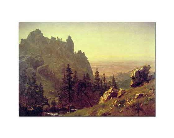 Albert Bierstadt Rüzgar Geçidi