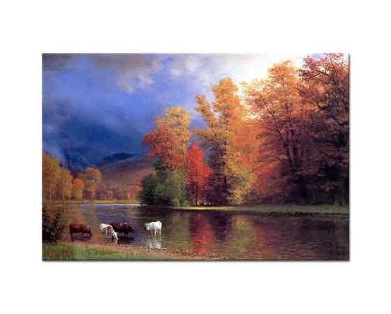 Albert Bierstadt Saco'da