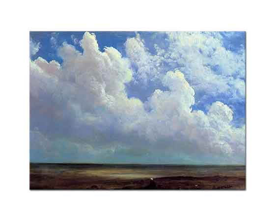 Albert Bierstadt Sahil