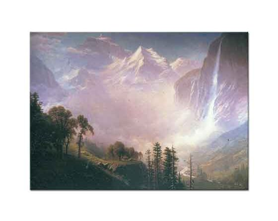 Albert Bierstadt Şelale