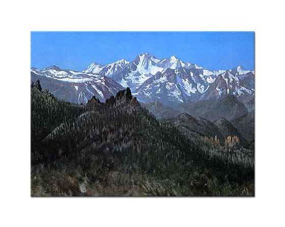 Albert Bierstadt Sierra Nevada