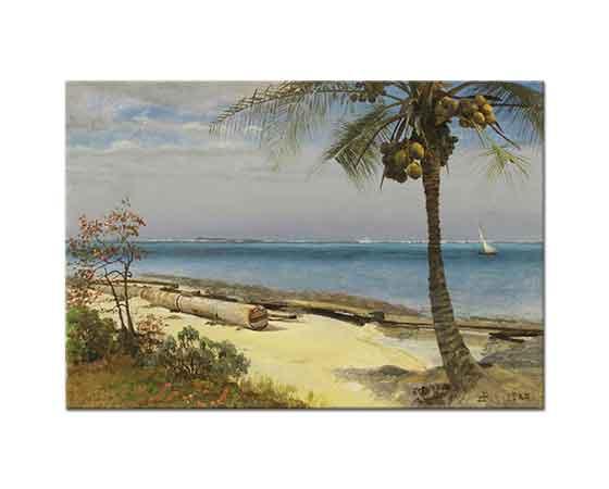 Albert Bierstadt Tropikal Manzara