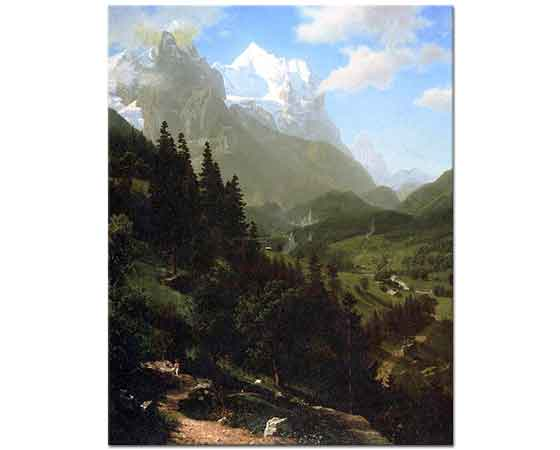 Albert Bierstadt Wetter Boynuzu