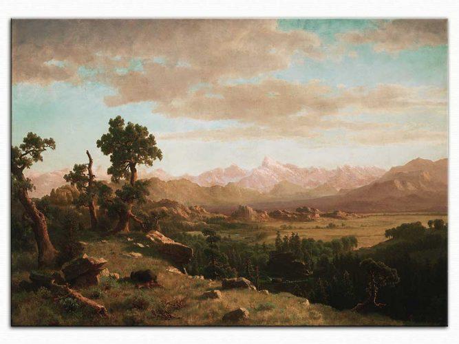 Albert Bierstadt Wind Nehri Çevresi